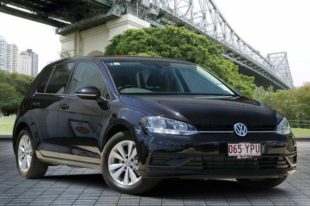 Used Volkswagen Golf 7.5 MY18 110TSI DSG Trendline, 2018 Volkswagen Golf 7.5 MY18 110TSI DSG Trendline Black 7 Speed Sports Automatic Dual Clutch