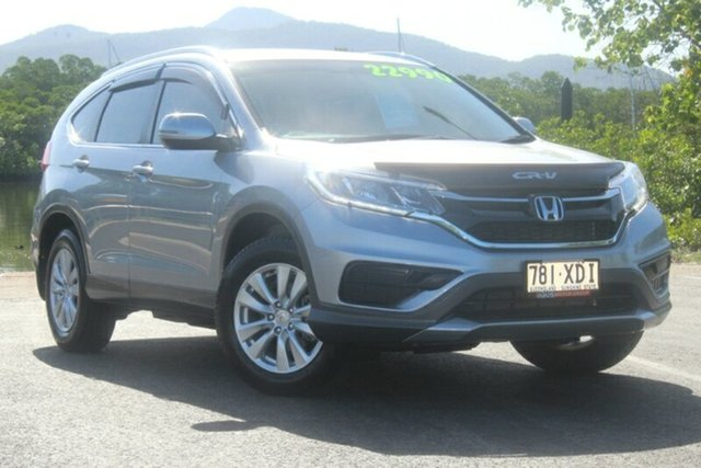 Used Honda CR-V RM Series II MY17 VTi, 2016 Honda CR-V RM Series II MY17 VTi Silver 5 Speed Automatic Wagon