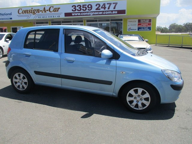 Used Hyundai Getz TB MY09 S, 2010 Hyundai Getz TB MY09 S Blue 4 Speed Automatic Hatchback