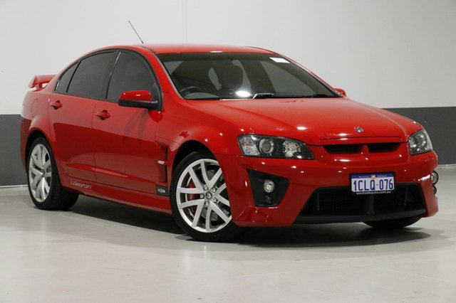 Used Holden Special Vehicles Clubsport E Series R8, 2007 Holden Special Vehicles Clubsport E Series R8 Red 6 Speed Manual Sedan