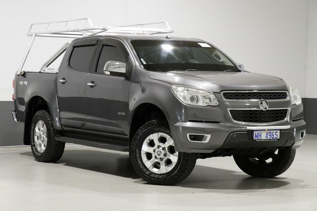 Used Holden Colorado RG LTZ (4x4), 2013 Holden Colorado RG LTZ (4x4) Graphite 5 Speed Manual Crew Cab Pickup