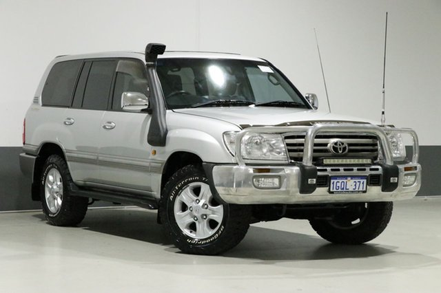 Used Toyota Landcruiser HDJ100R Upgrade Sahara (4x4), 2005 Toyota Landcruiser HDJ100R Upgrade Sahara (4x4) Silver 5 Speed Automatic Wagon