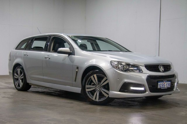 Used Holden Commodore VF II MY16 SV6 Sportwagon, 2015 Holden Commodore VF II MY16 SV6 Sportwagon Silver 6 Speed Sports Automatic Wagon
