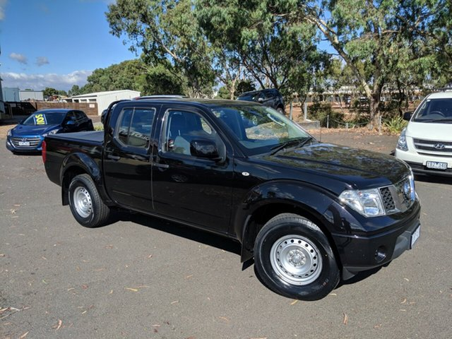 Used Nissan Navara D40 S8 RX 4x2, 2014 Nissan Navara D40 S8 RX 4x2 Black/Grey 6 Speed Manual Utility