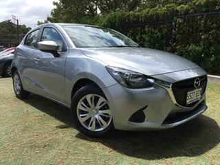 2018 Mazda 2 DJ2HA6 Neo SKYACTIV-MT Aluminium 6 Speed Manual Hatchback.