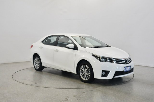 Used Toyota Corolla ZRE172R SX S-CVT, 2015 Toyota Corolla ZRE172R SX S-CVT White 7 Speed Constant Variable Sedan