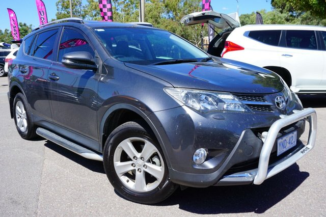 Used Toyota RAV4 ASA44R Cruiser AWD, 2013 Toyota RAV4 ASA44R Cruiser AWD Grey 6 Speed Sports Automatic Wagon