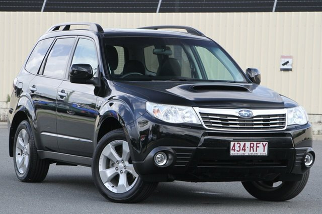 Used Subaru Forester S3 MY10 XT AWD Premium, 2010 Subaru Forester S3 MY10 XT AWD Premium Black 4 Speed Sports Automatic Wagon