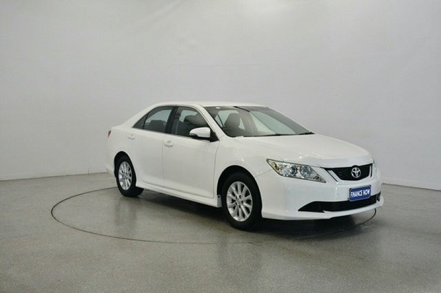 Used Toyota Aurion GSV50R AT-X, 2015 Toyota Aurion GSV50R AT-X White 6 Speed Sports Automatic Sedan