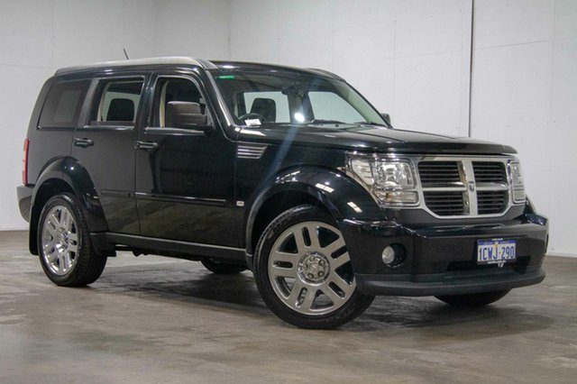 Used Dodge Nitro KA MY08 SXT, 2008 Dodge Nitro KA MY08 SXT Black 4 Speed Automatic Wagon