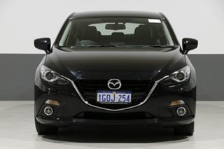 2014 Mazda 3 BL Series 2 MY13 SP25 Black 5 Speed Automatic Hatchback.