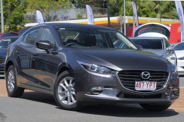 Demo Mazda 3 BN5278 Maxx SKYACTIV-Drive Sport, 2018 Mazda 3 BN5278 Maxx SKYACTIV-Drive Sport Machine Grey 6 Speed Sports Automatic Sedan