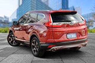 2018 Honda CR-V RW MY18 VTi-LX 4WD Passion Red 1 Speed Constant Variable Wagon.