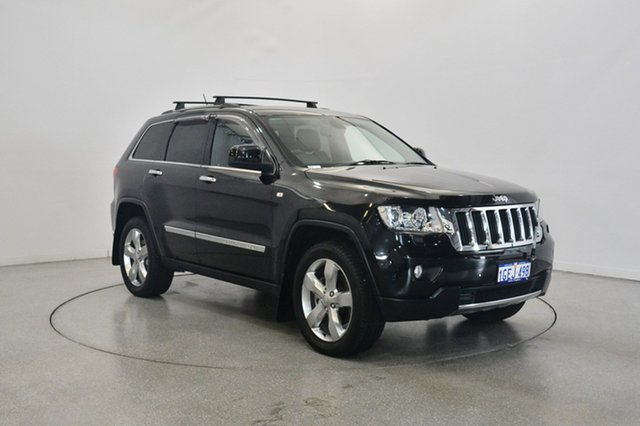 Used Jeep Grand Cherokee WK MY2013 Limited, 2013 Jeep Grand Cherokee WK MY2013 Limited Black 5 Speed Sports Automatic Wagon
