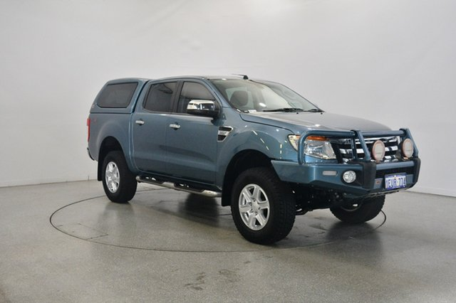 Used Ford Ranger PX XLT Double Cab, 2015 Ford Ranger PX XLT Double Cab Blue 6 Speed Manual Utility