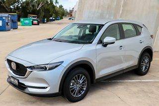 2018 Mazda CX-5 KF2W7A Maxx SKYACTIV-Drive FWD Sport Sonic Silver 6 Speed Sports Automatic Wagon.