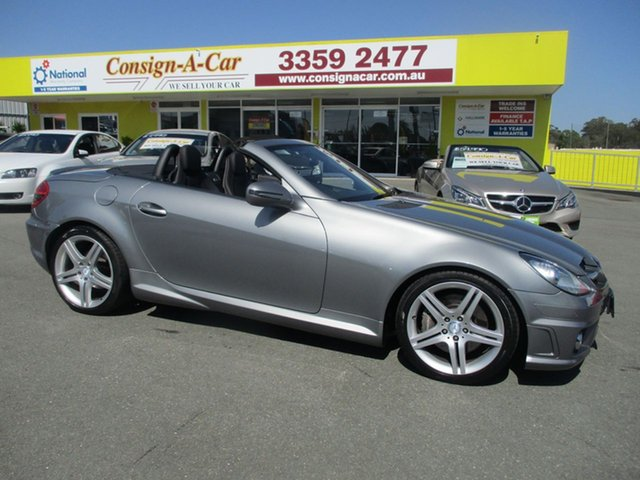 Used Mercedes-Benz SLK300 R171 MY10 7G-Tronic, 2010 Mercedes-Benz SLK300 R171 MY10 7G-Tronic Silver 7 Speed Sports Automatic Roadster