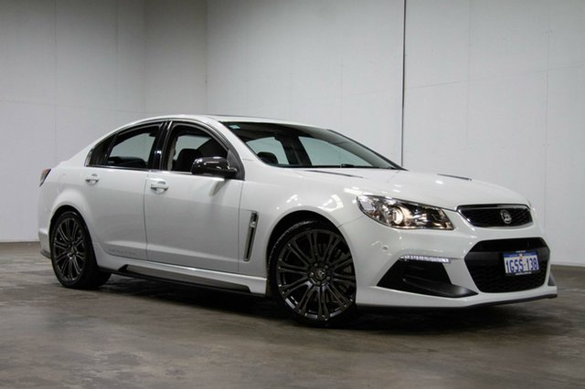 Used Holden Special Vehicles Senator Gen-F2 MY16 Signature, 2016 Holden Special Vehicles Senator Gen-F2 MY16 Signature White 6 Speed Sports Automatic Sedan