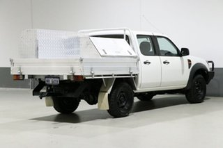 2011 Ford Ranger PK XL (4x4) White 5 Speed Automatic Dual Cab Chassis