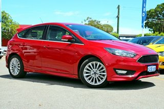 2017 Ford Focus LZ Sport Red 6 Speed Manual Hatchback