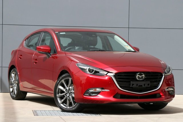 New Mazda 3 BN5438 SP25 SKYACTIV-Drive Astina, 2018 Mazda 3 BN5438 SP25 SKYACTIV-Drive Astina Soul Red Crystal 6 Speed Sports Automatic Hatchback