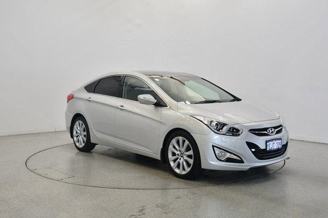 Used Hyundai i40 VF2 Premium, 2012 Hyundai i40 VF2 Premium Silver 6 Speed Sports Automatic Sedan