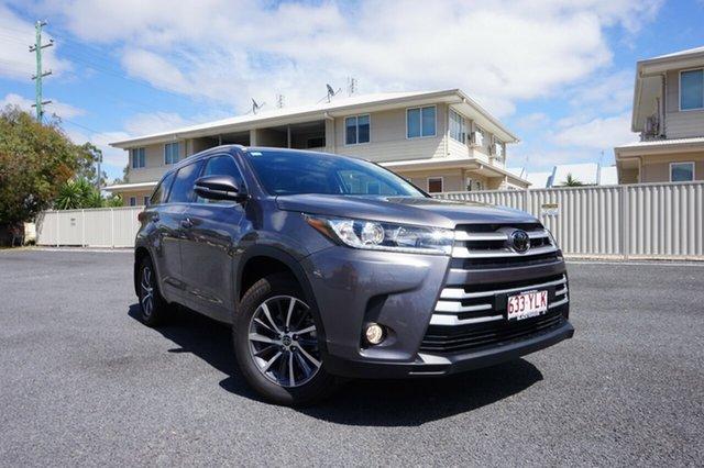 Demo Toyota Kluger GSU55R MY18 GXL (4x4), 2018 Toyota Kluger GSU55R MY18 GXL (4x4) Predawn Grey 8 Speed Automatic Wagon