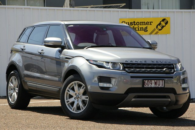 Used Land Rover Range Rover Evoque L538 MY13 TD4 CommandShift Pure, 2013 Land Rover Range Rover Evoque L538 MY13 TD4 CommandShift Pure Grey 6 Speed Sports Automatic