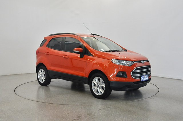 Used Ford Ecosport BK Trend PwrShift, 2017 Ford Ecosport BK Trend PwrShift Orange 6 Speed Sports Automatic Dual Clutch Wagon