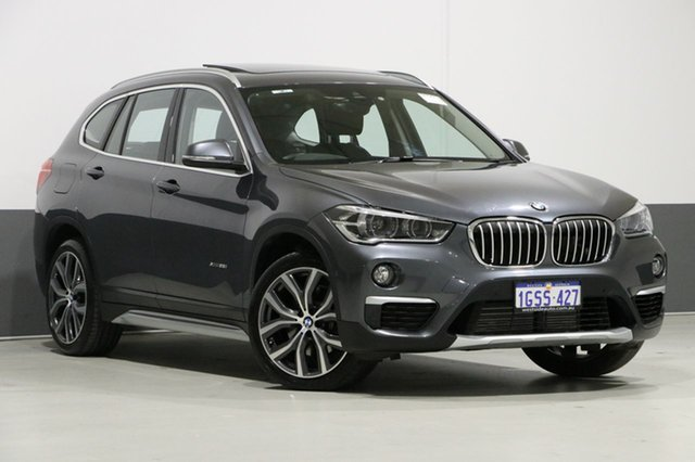 Used BMW X1 F48 MY18 Xdrive 25I M Sport, 2017 BMW X1 F48 MY18 Xdrive 25I M Sport Grey 8 Speed Automatic Wagon
