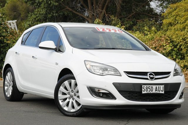 Used Opel Astra AS Select, 2012 Opel Astra AS Select Summit White 6 Speed Sports Automatic Hatchback