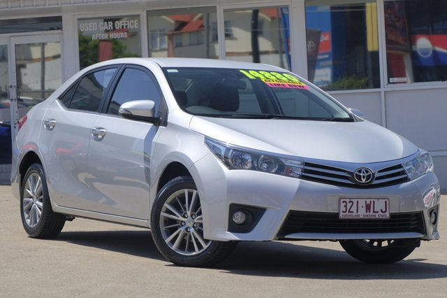 Used Toyota Corolla ZRE172R SX, 2016 Toyota Corolla ZRE172R SX Silver 6 Speed Manual Sedan