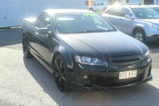 2007 Holden Ute VE SS Black 6 Speed Manual Utility.