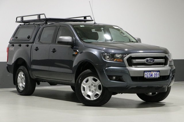 Used Ford Ranger PX MkII XLS 3.2 (4x4), 2015 Ford Ranger PX MkII XLS 3.2 (4x4) Grey 6 Speed Automatic Dual Cab Utility
