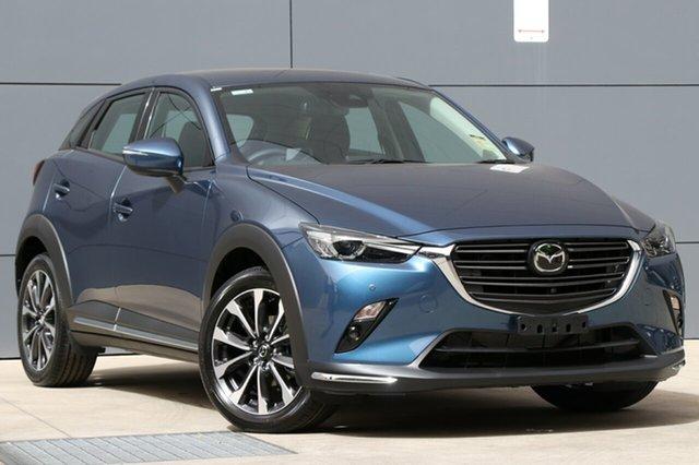 New Mazda CX-3 DK2W7A Akari SKYACTIV-Drive, 2018 Mazda CX-3 DK2W7A Akari SKYACTIV-Drive Eternal Blue 6 Speed Sports Automatic Wagon