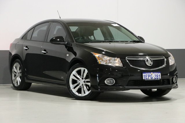 Used Holden Cruze JH MY14 SRI Z-Series, 2014 Holden Cruze JH MY14 SRI Z-Series Black 6 Speed Manual Sedan