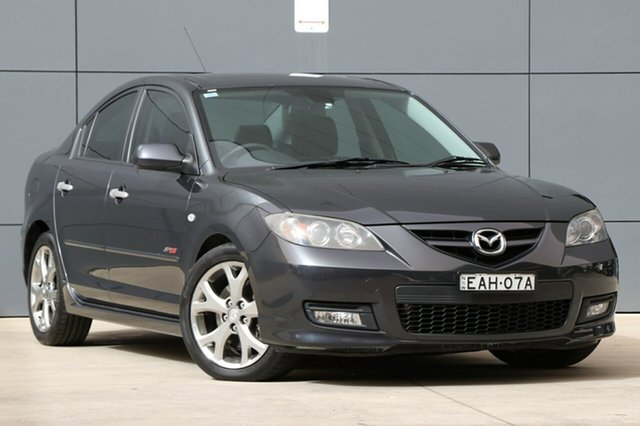 Used Mazda 3 BK1032 SP23, 2007 Mazda 3 BK1032 SP23 Grey 5 Speed Sports Automatic Sedan