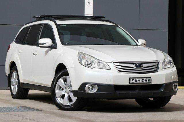 Used Subaru Outback B5A MY11 3.6R AWD Premium, 2011 Subaru Outback B5A MY11 3.6R AWD Premium White 5 Speed Sports Automatic Wagon
