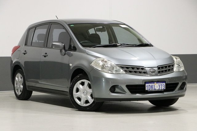Used Nissan Tiida C11 MY07 ST, 2010 Nissan Tiida C11 MY07 ST Grey 6 Speed Manual Hatchback
