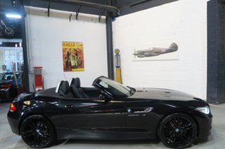 2016 BMW Z4 E89 LCI sDrive20i Edition M Sport Black 8 Speed Sports Automatic Roadster.