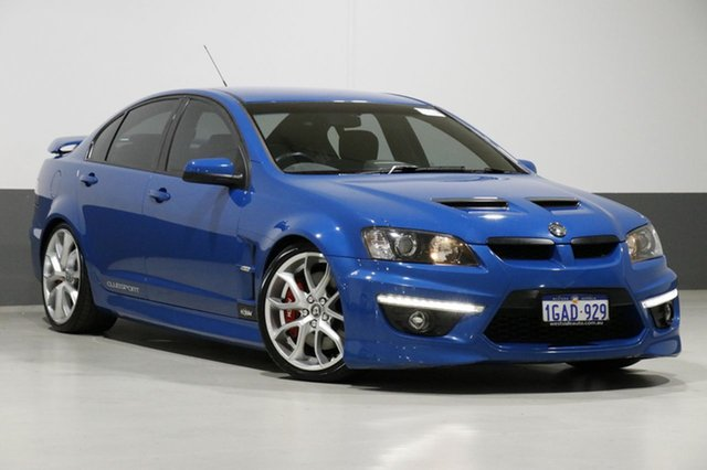 Used Holden Special Vehicles Clubsport E3 R8, 2011 Holden Special Vehicles Clubsport E3 R8 Blue 6 Speed Manual Sedan