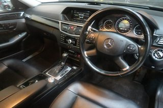 2010 Mercedes-Benz E-Class W212 Silver 5 Speed Sports Automatic Sedan