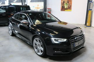 2013 Audi S5 8T MY14 S tronic quattro Black 7 Speed Sports Automatic Dual Clutch Coupe.