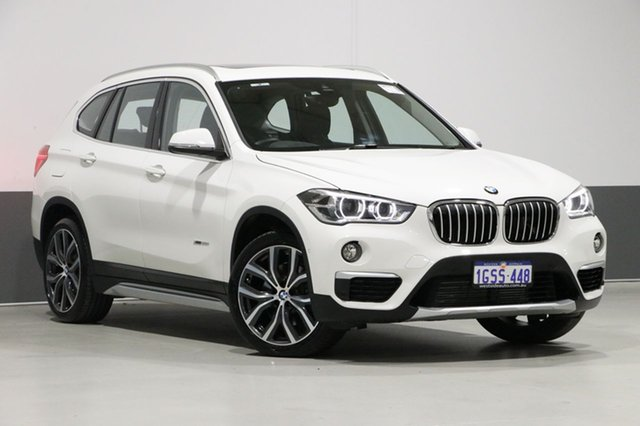 Used BMW X1 F48 MY18 Xdrive 25I M Sport, 2017 BMW X1 F48 MY18 Xdrive 25I M Sport White 8 Speed Automatic Wagon