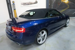 2014 Audi A5 8T MY15 S tronic quattro Blue 7 Speed Sports Automatic Dual Clutch Cabriolet