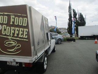 2004 Ford Falcon BA White COFFEE VAN