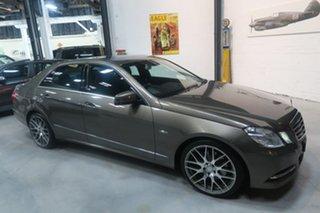 2010 Mercedes-Benz E250 CDI W212 BlueEFFICIENCY Avantgarde Silver 5 Speed Sports Automatic Sedan