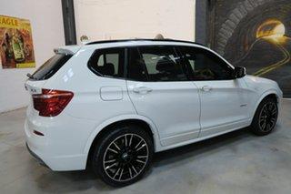 2013 BMW X3 F25 MY0413 xDrive28i Steptronic White 8 Speed Automatic Wagon