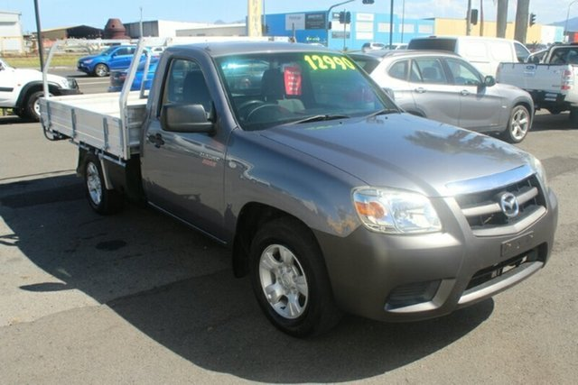 Used Mazda BT-50 UNY0W4 DX 4x2, 2011 Mazda BT-50 UNY0W4 DX 4x2 Grey 5 Speed Manual Cab Chassis
