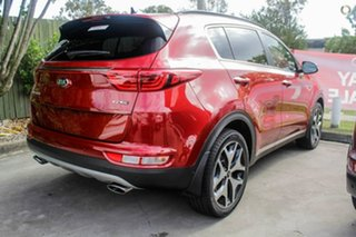 2018 Kia Sportage QL MY19 GT-Line AWD Fiery Red 8 Speed Sports Automatic Wagon.
